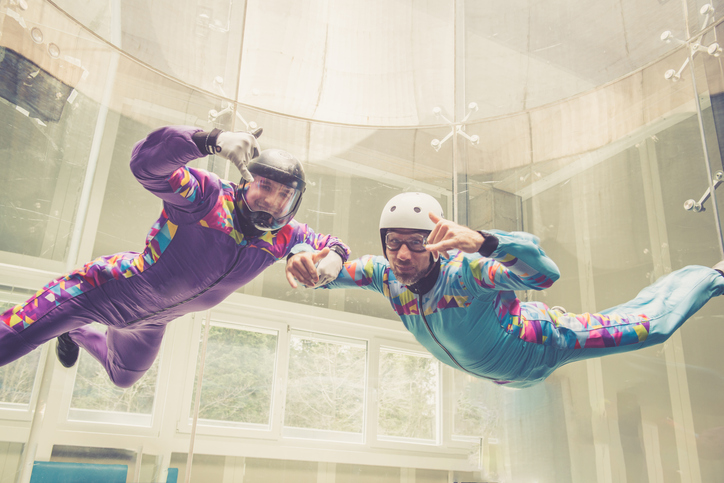 indoor skydiving in Ogden, Utah