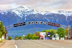 Lovely community of Ogden, Utah